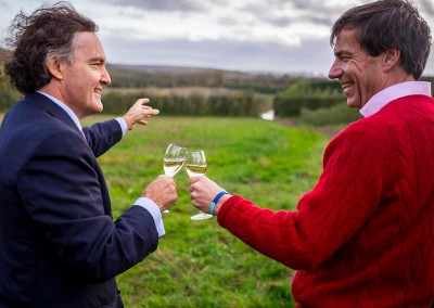 Pierre-Emmanuel Taittinger and Patrick McGrath